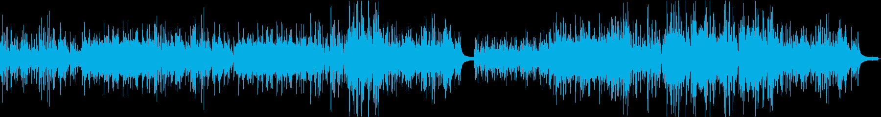 せつなくあかるいピアノの再生済みの波形