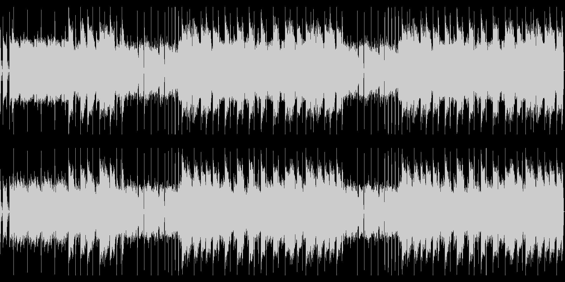 オールドスクールなヒップホップビーツの未再生の波形