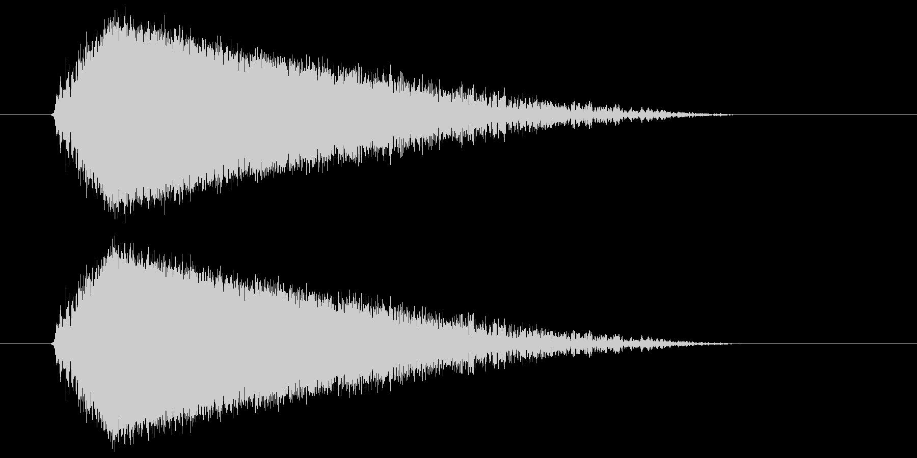 ビュー(強い風の音) 03の未再生の波形