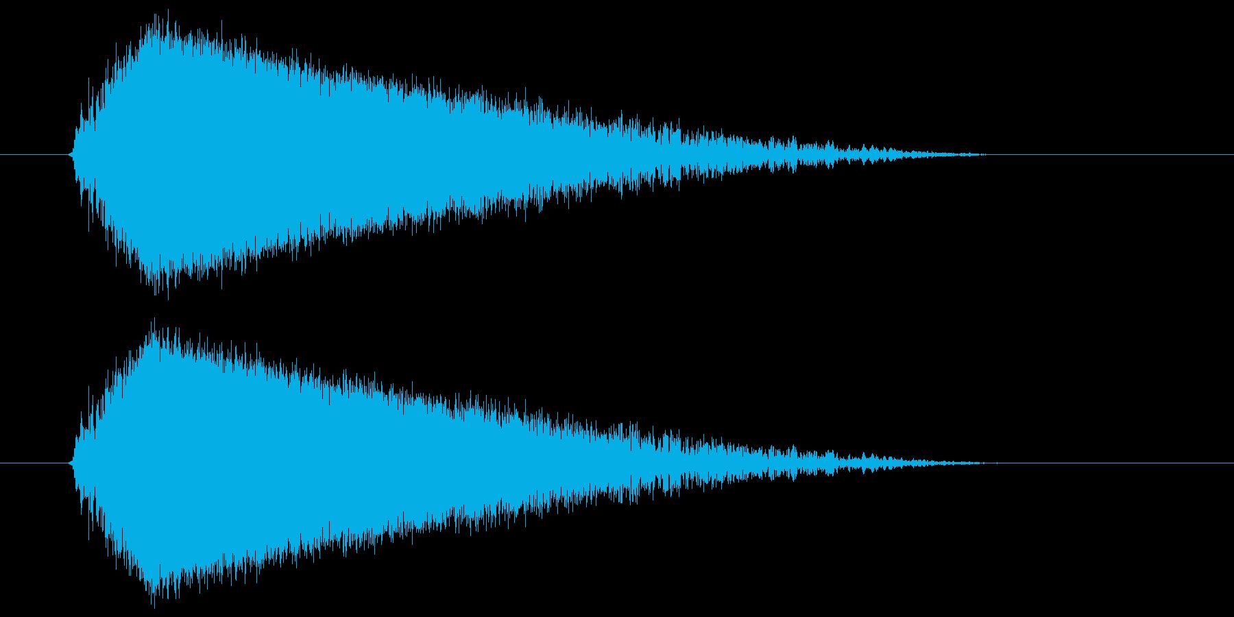 ビュー(強い風の音) 03の再生済みの波形
