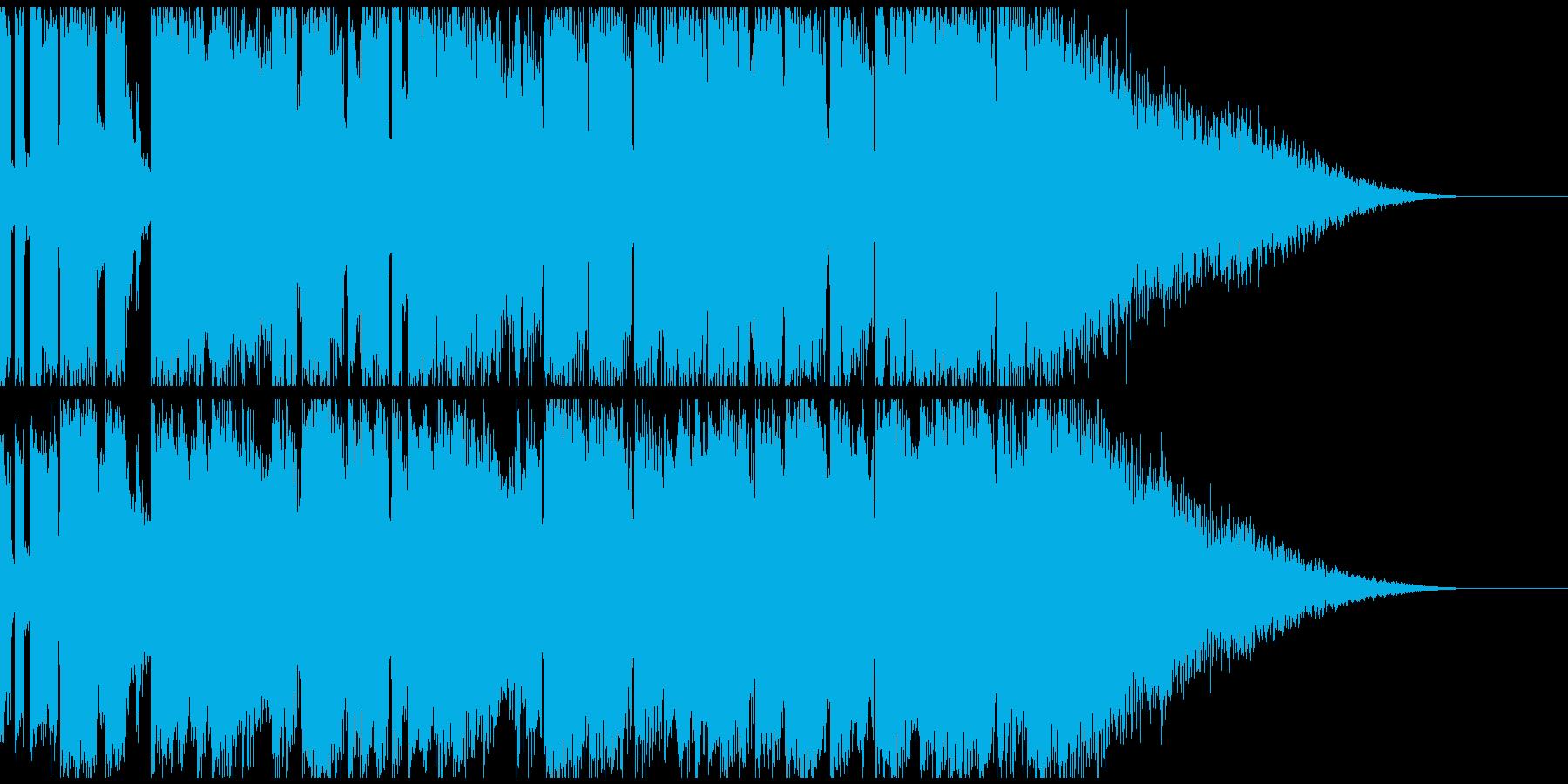 明るく力強いシンセポップスの再生済みの波形