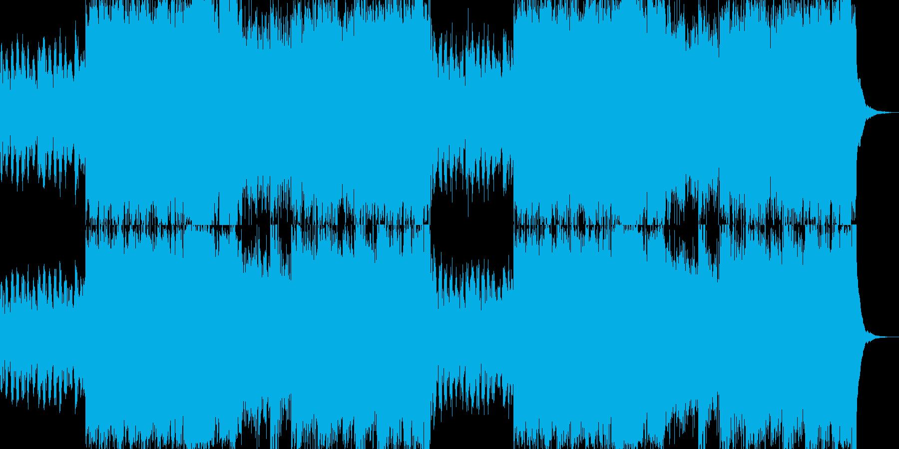 卒業・入学・結婚 ビートルズ風ハープの再生済みの波形