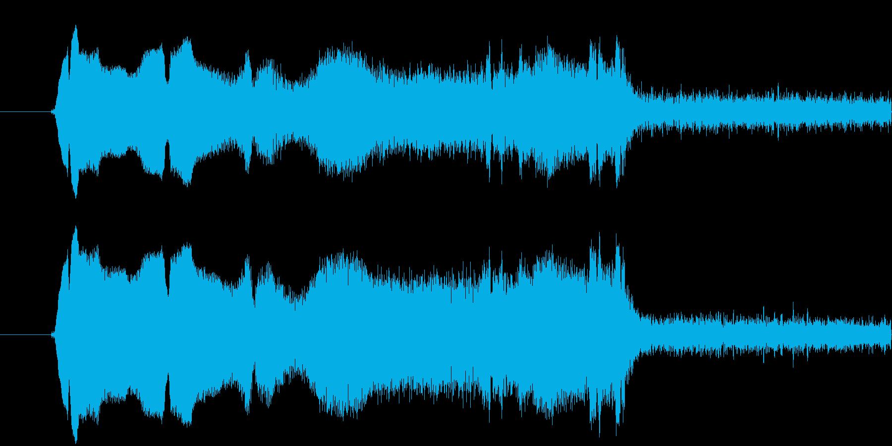 きゅいーん。きゅいん。という感じのイル…の再生済みの波形