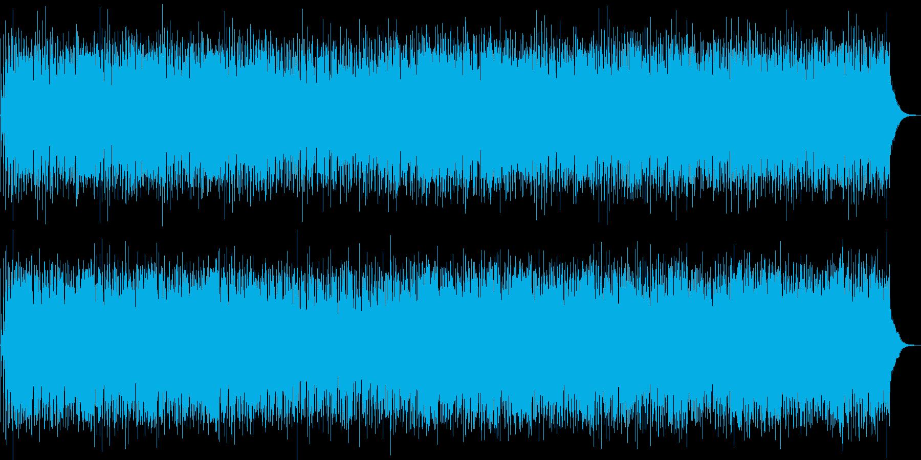 明るく川が流れていくようなストリングスの再生済みの波形