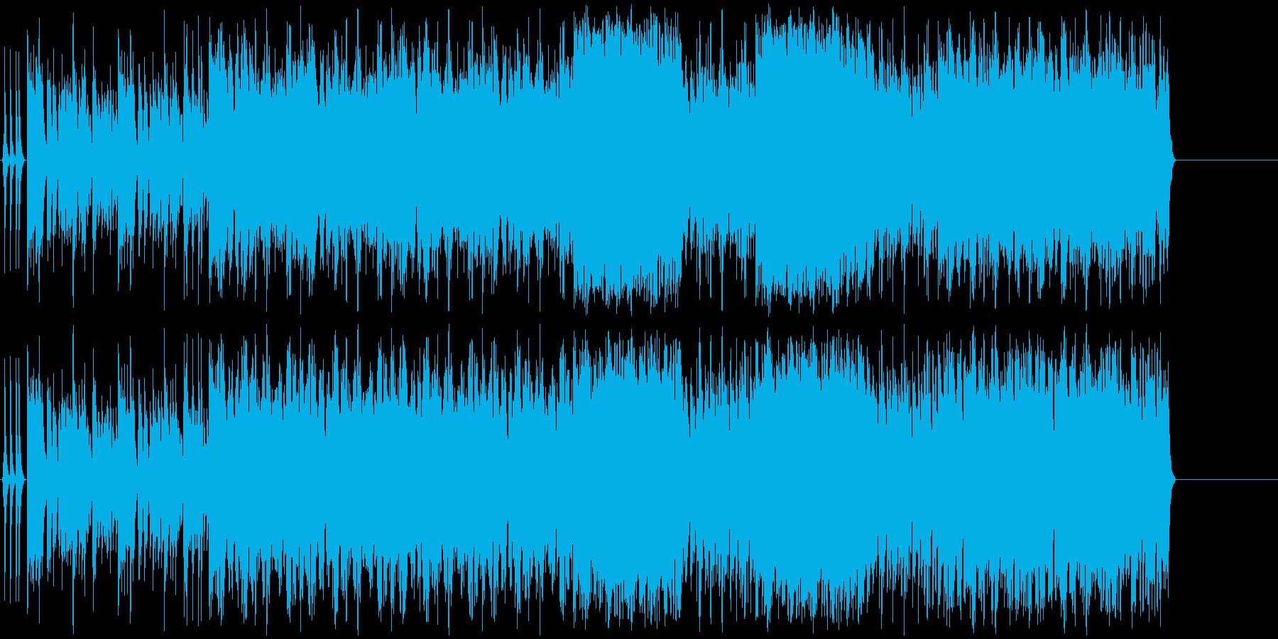フルートとクラビネットが印象的なポップの再生済みの波形