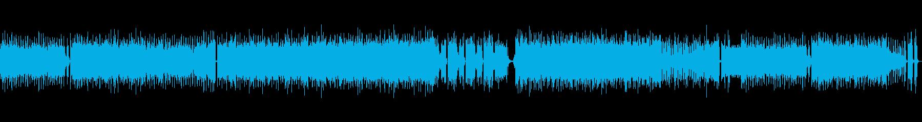 オーケストラロックアップループ曲企業VPの再生済みの波形