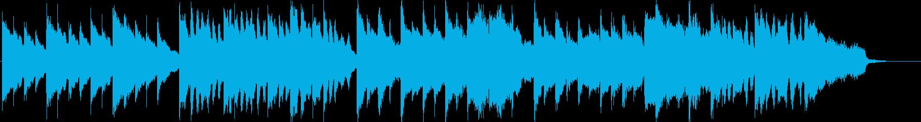 可愛らしくファンタジックなメルヘンBGMの再生済みの波形