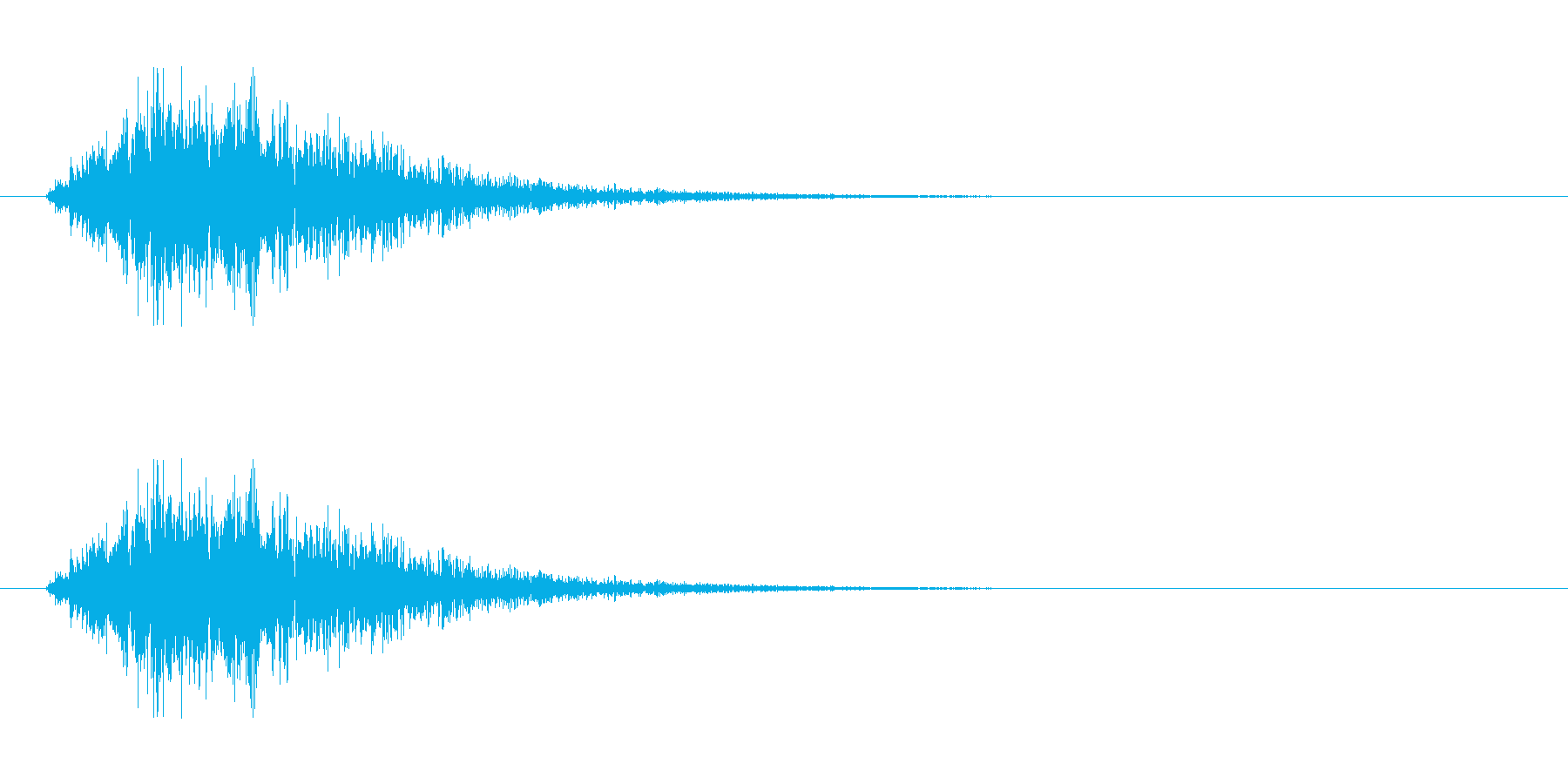 SF 移動音 5の再生済みの波形
