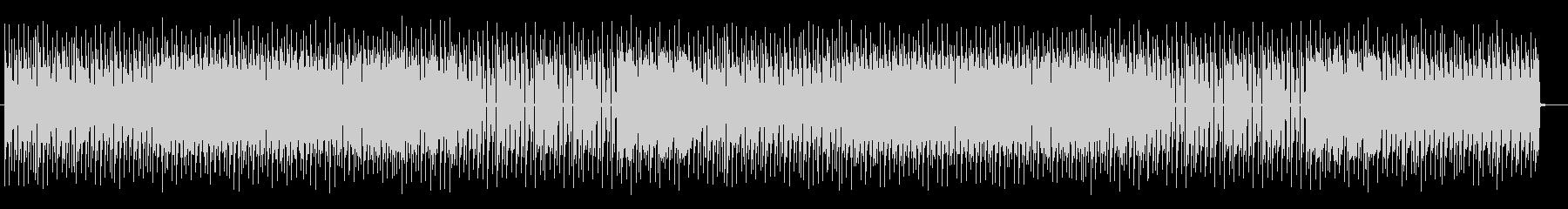 テクニカルでクールなエレキサウンドの未再生の波形