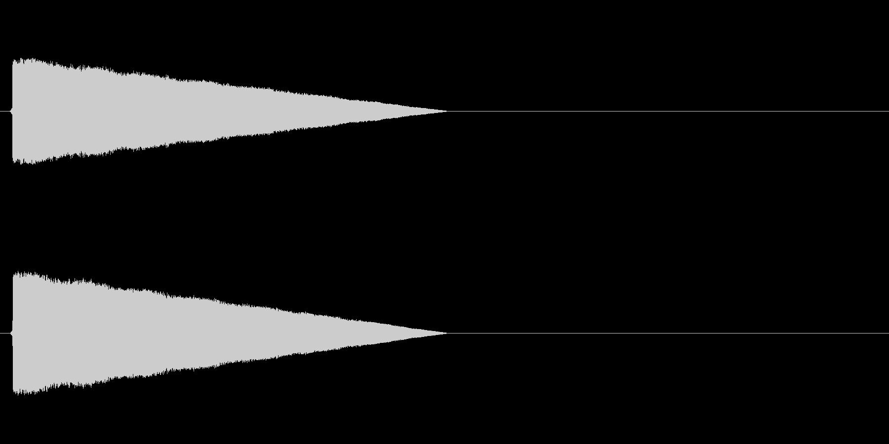 ポワワワワワ(転送装置、レトロゲーム)の未再生の波形