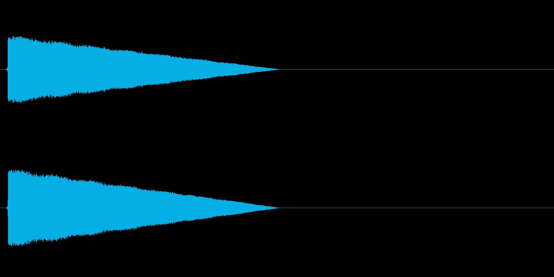 ポワワワワワ(転送装置、レトロゲーム)の再生済みの波形