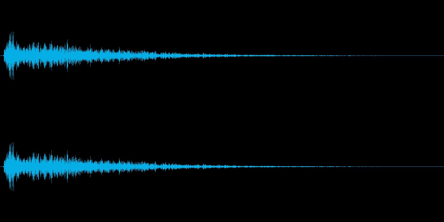 サウンドロゴやゲーム・映像・CMなど の再生済みの波形