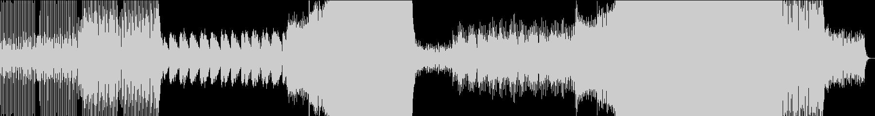 メロディアスで爽やかな美メロEDMの未再生の波形