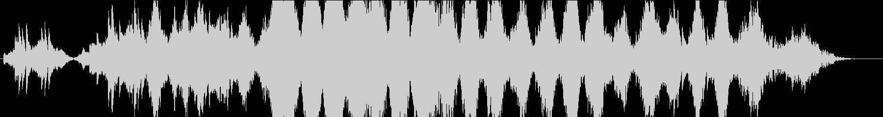 ストリングス、ピアノ中心のしっとりな感じの未再生の波形
