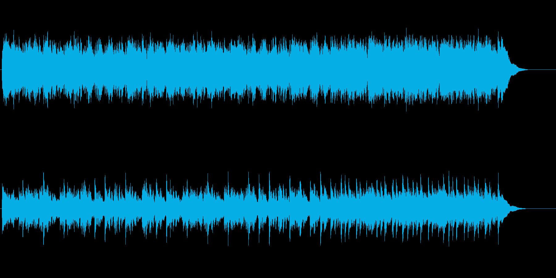 ブルーな旋律のアダルト・ポップ・バラードの再生済みの波形