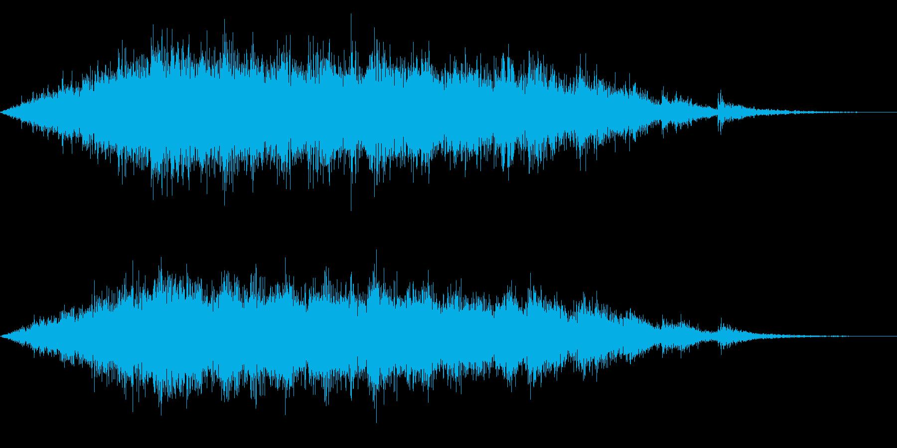 拍手(中規模/ライブ/舞台など)06の再生済みの波形