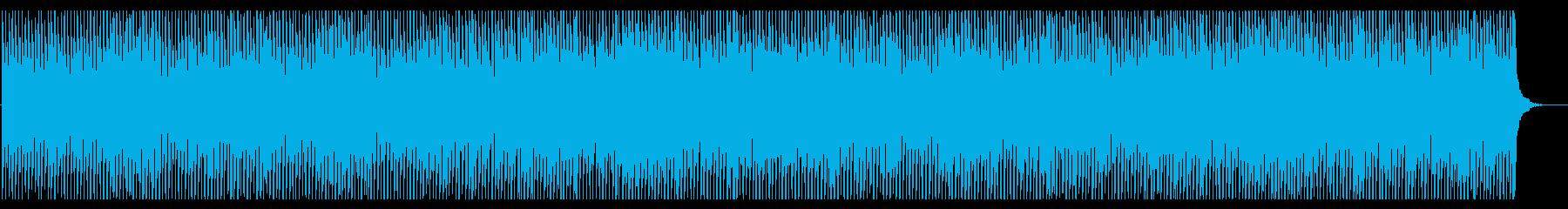 ロック・ピアノ・キラキラ・アップテンポの再生済みの波形