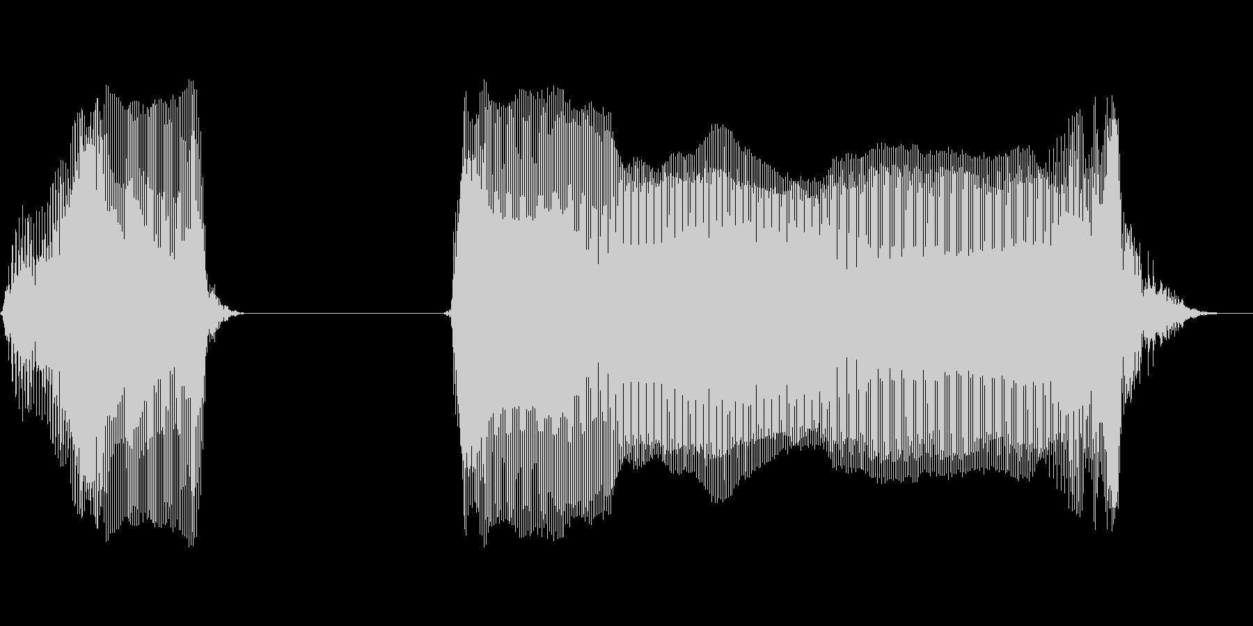 ブッブーの未再生の波形