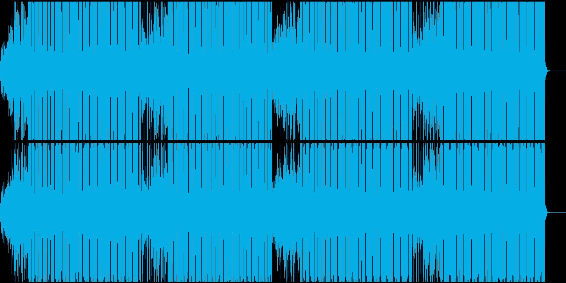オシャレなクラブミュージックの再生済みの波形