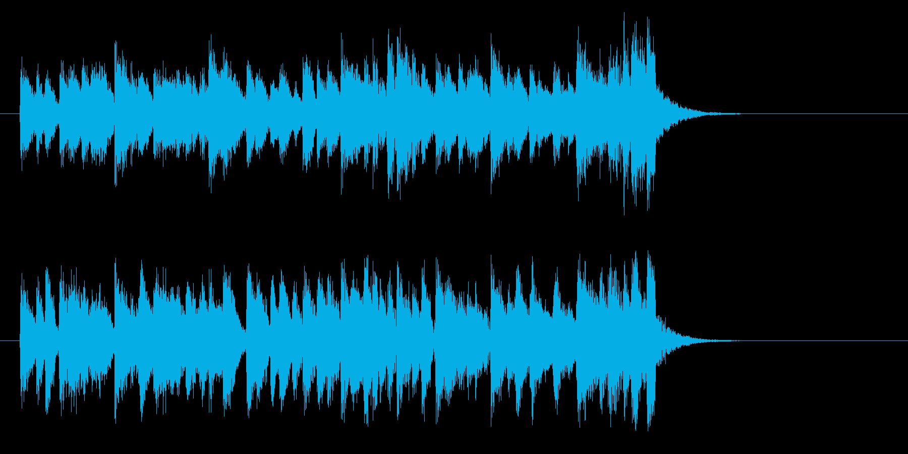 懐かしさに浸るジャズ(イントロ)の再生済みの波形