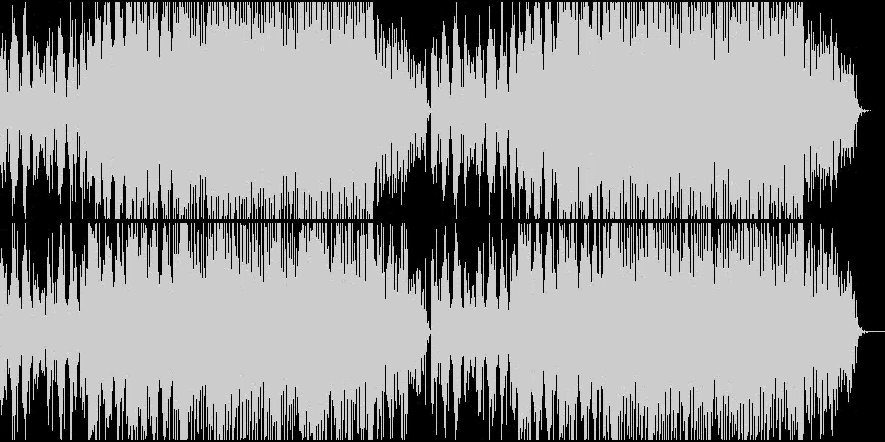 爽やかなピアノソロの未再生の波形