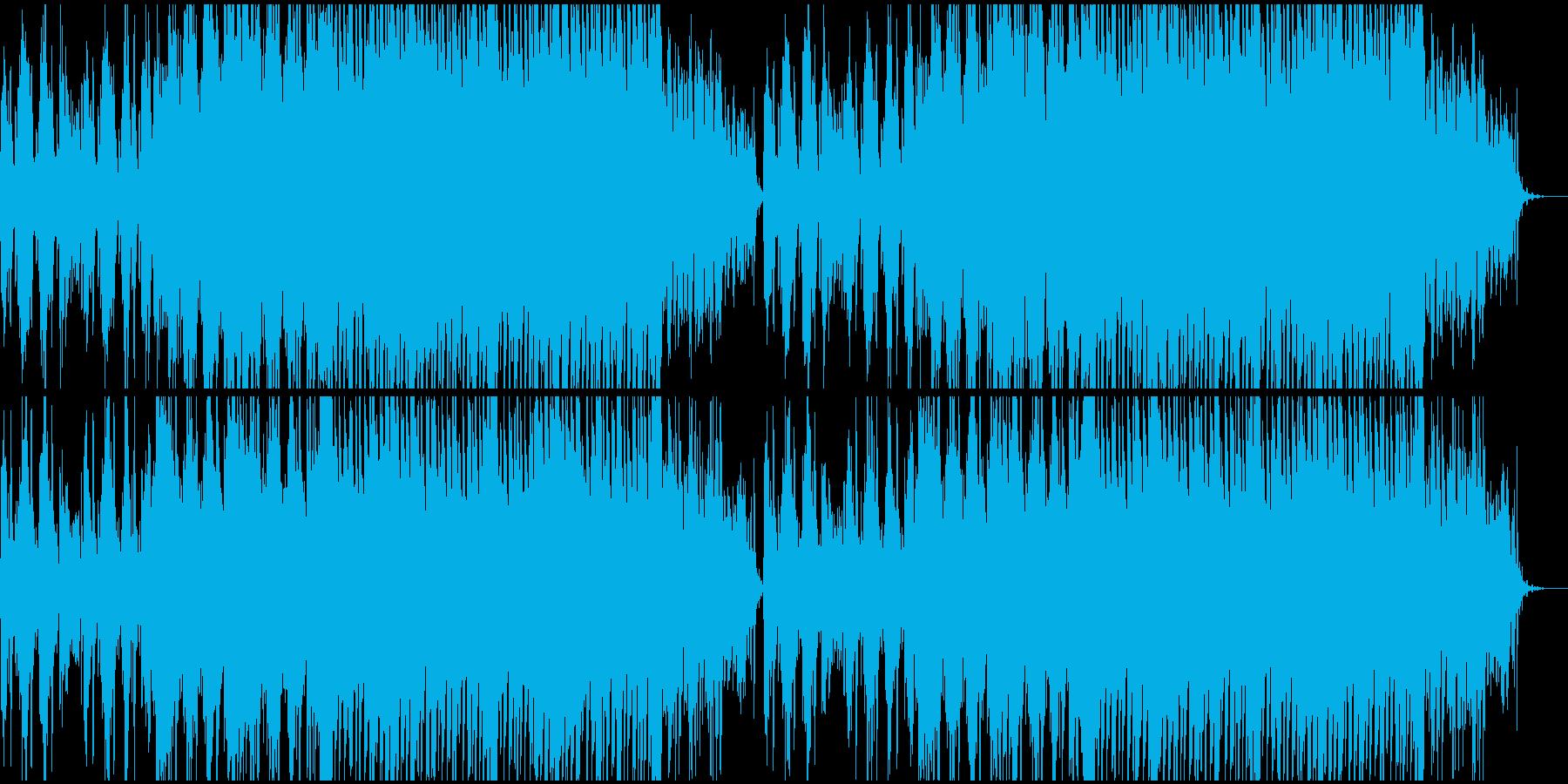 爽やかなピアノソロの再生済みの波形