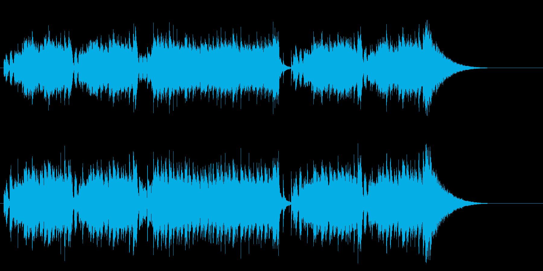 甘く切ない慕情のポピュラー・ミュージックの再生済みの波形