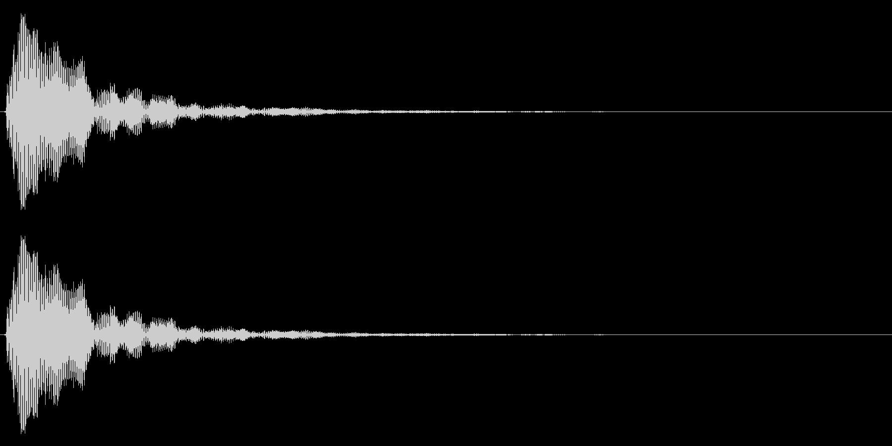 小鼓(こつづみ)の未再生の波形