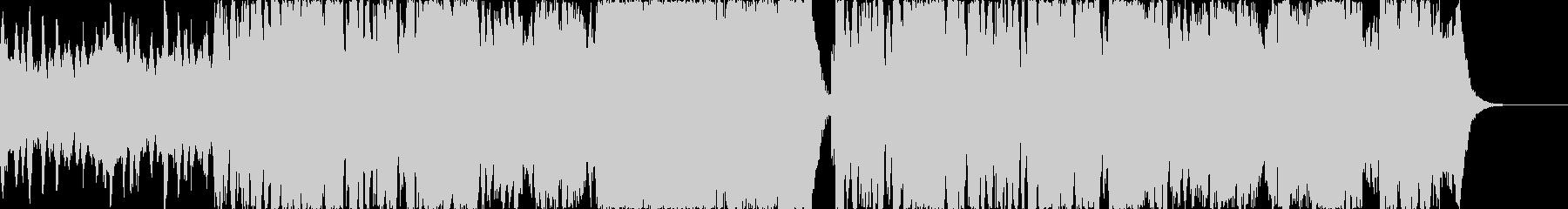 ダークなシーンに合うオーケストラBGMの未再生の波形