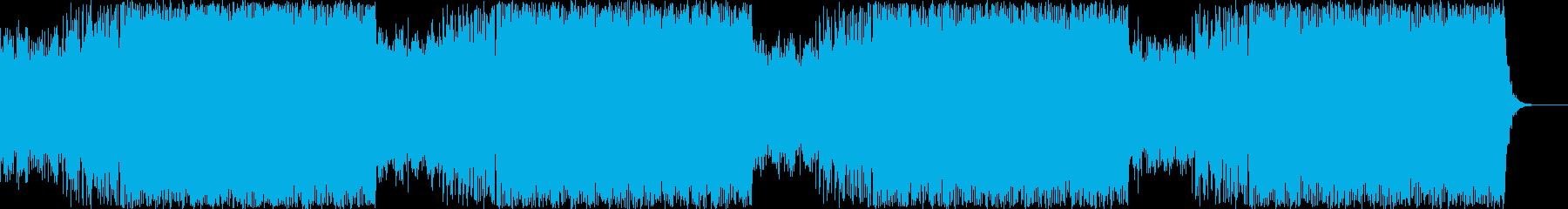 妖艶と力強さが共存するダンスビート(L)の再生済みの波形