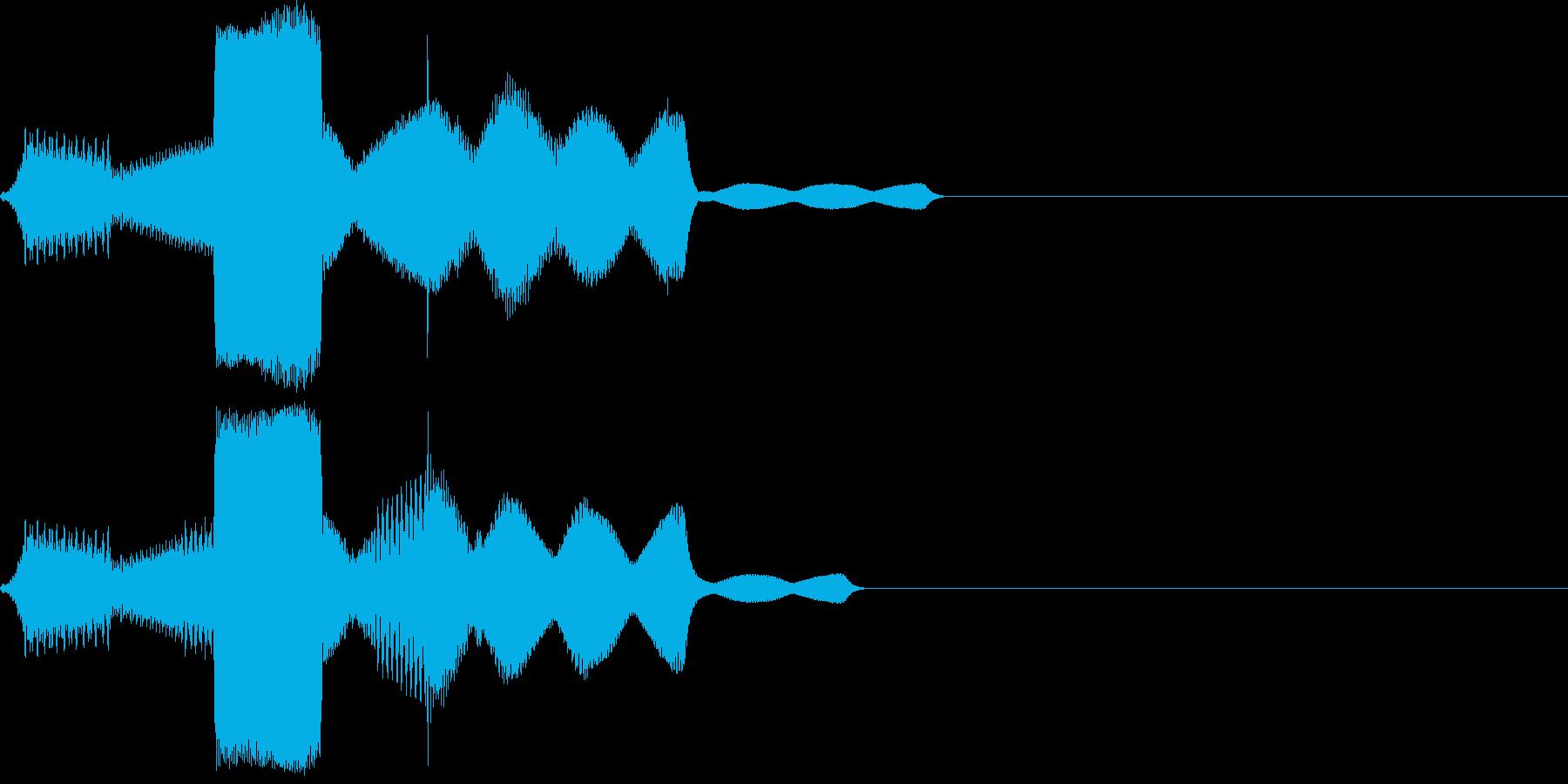 ピロリ(click_044_ボタン)の再生済みの波形