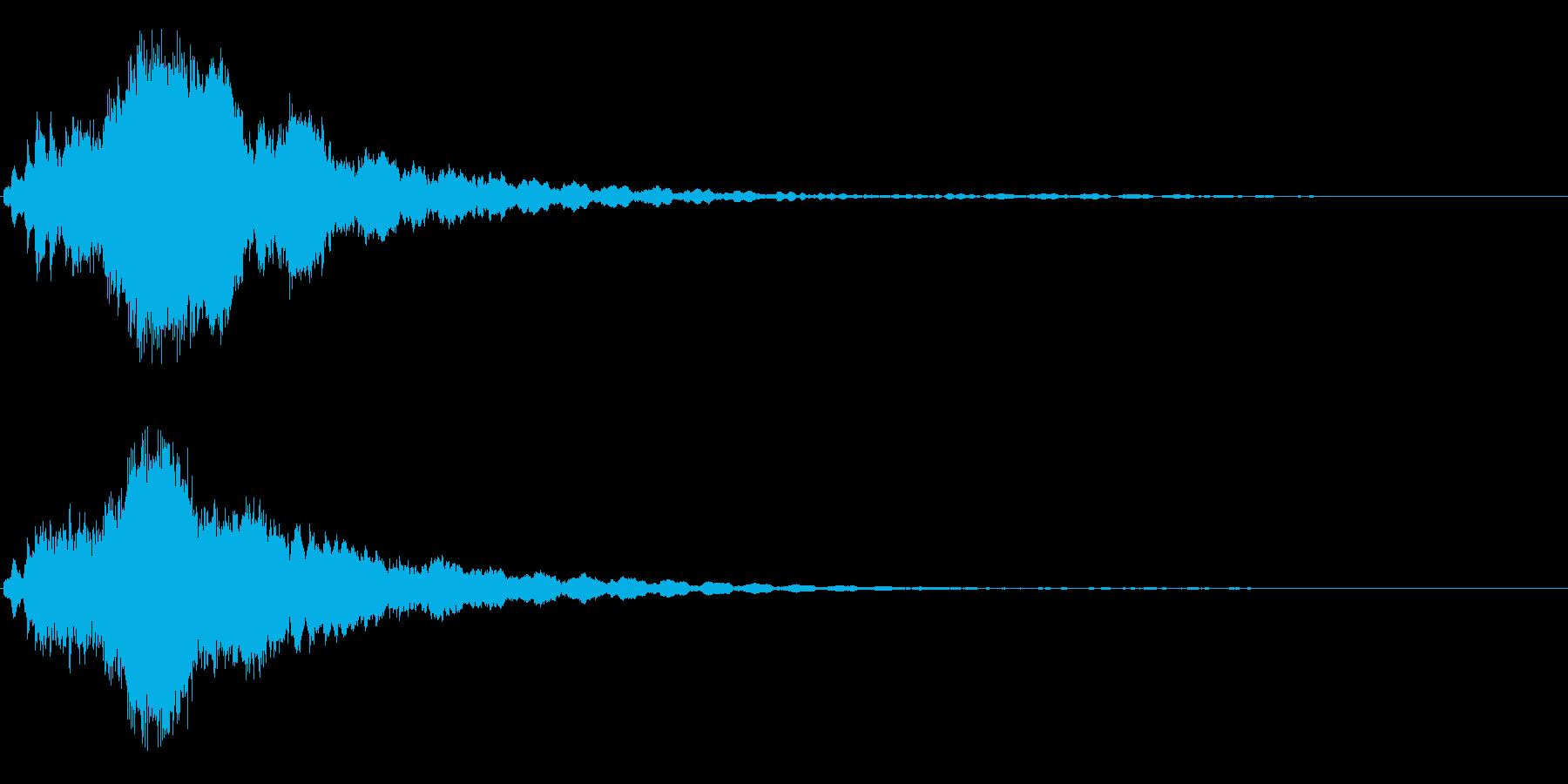 キラキラ☆ピキーン!(星の輝きや魔法)4の再生済みの波形