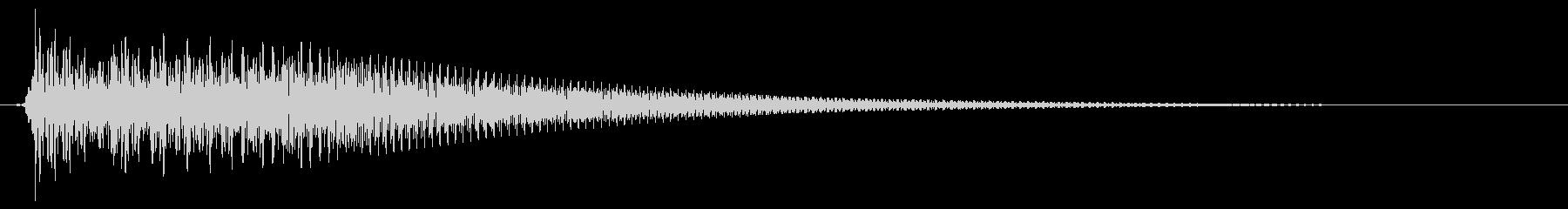 キュイン/シンセサイザー/SF系の未再生の波形