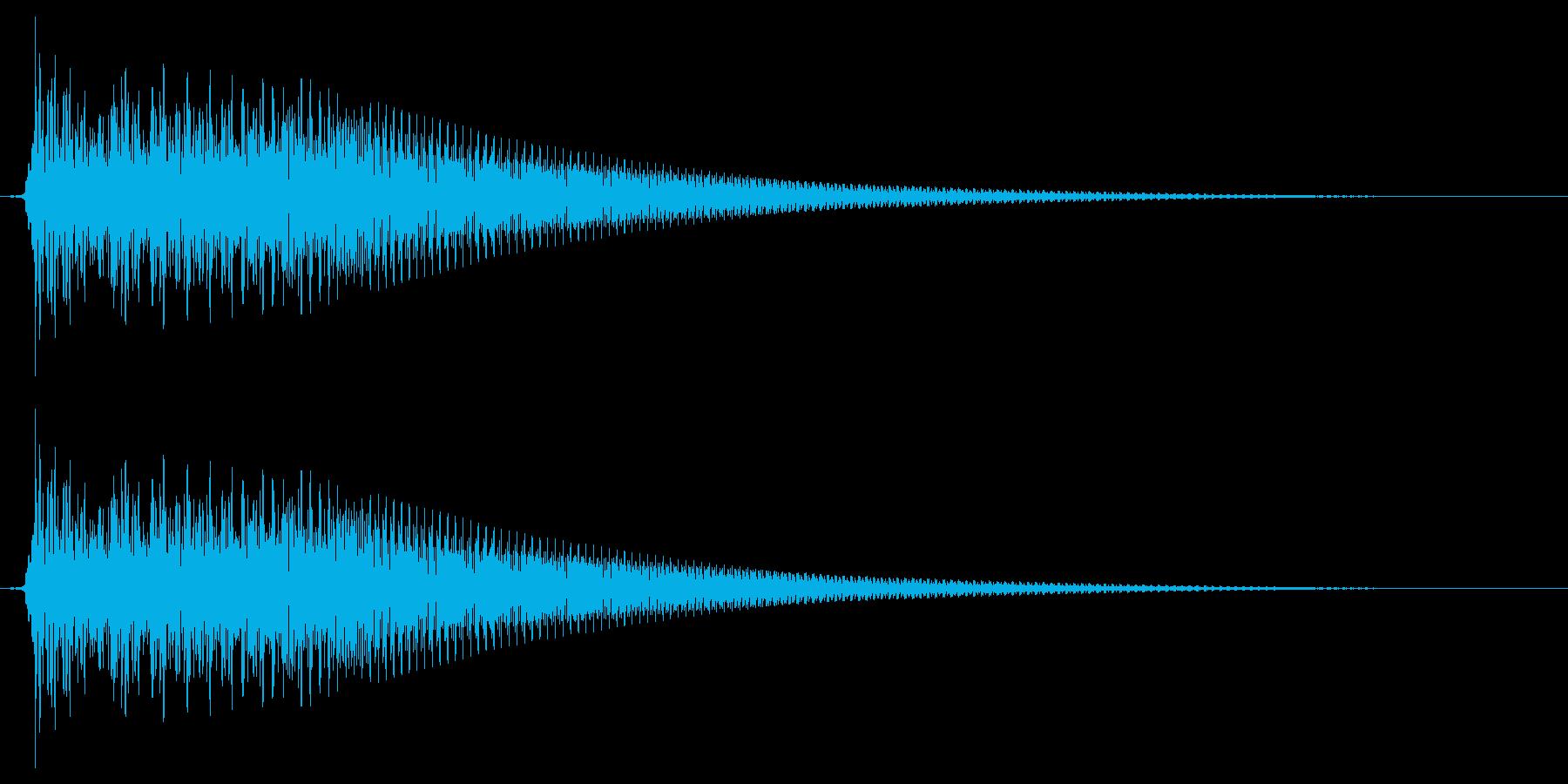 キュイン/シンセサイザー/SF系の再生済みの波形