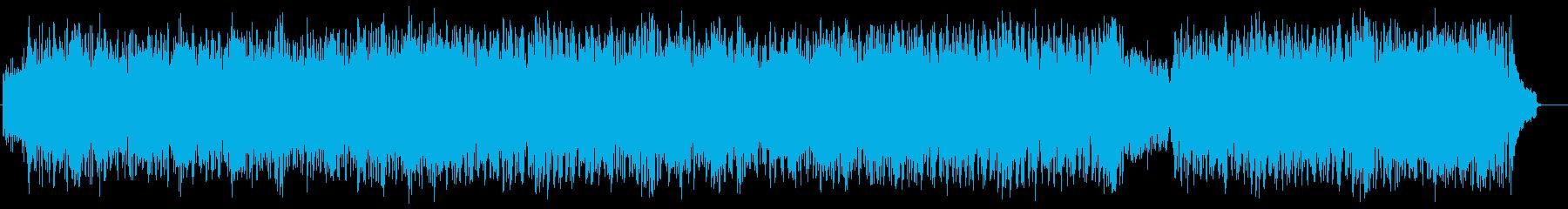リゾート風ラテンポップス(フルサイズ)の再生済みの波形
