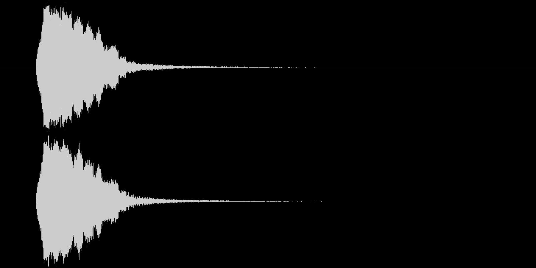 テュルリッ(場面転換、アイテム使用)の未再生の波形