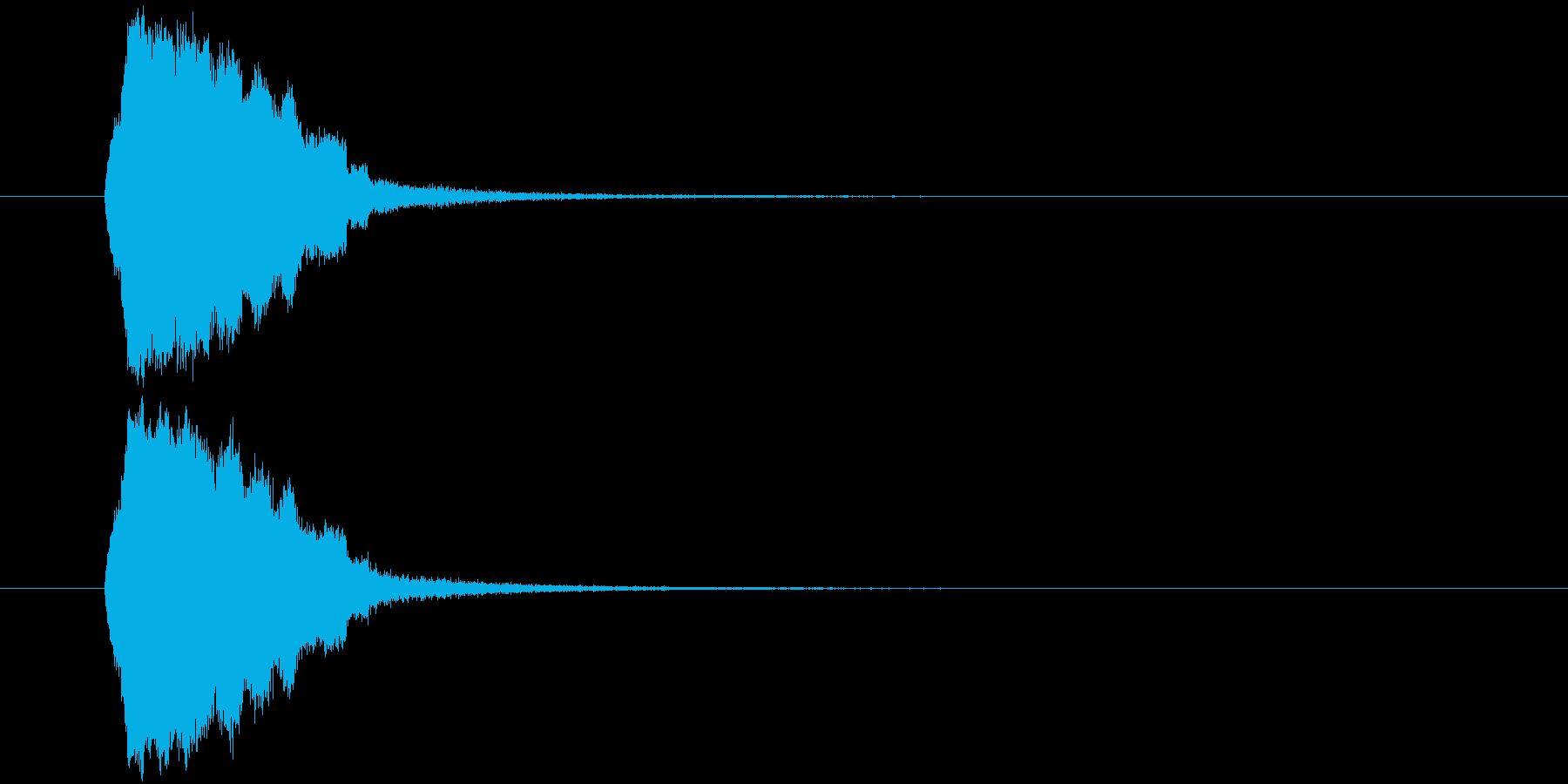 テュルリッ(場面転換、アイテム使用)の再生済みの波形