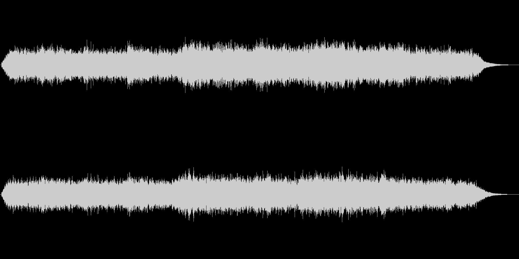 シンセパッドによる幻想的なジングル4の未再生の波形