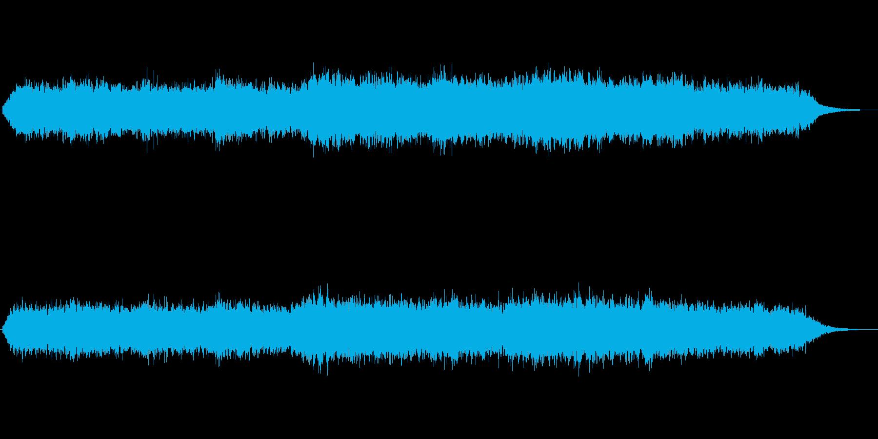 シンセパッドによる幻想的なジングル4の再生済みの波形