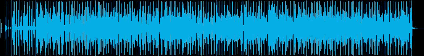 おしゃれなギターポップサウンドの再生済みの波形