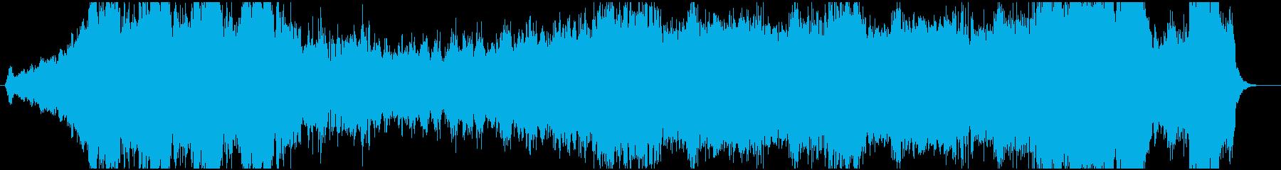 オーケストラによる新たな門出のための序曲の再生済みの波形