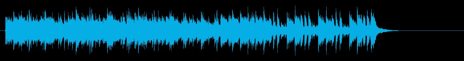 軽快なポップフュージョン(サビ~エンド)の再生済みの波形