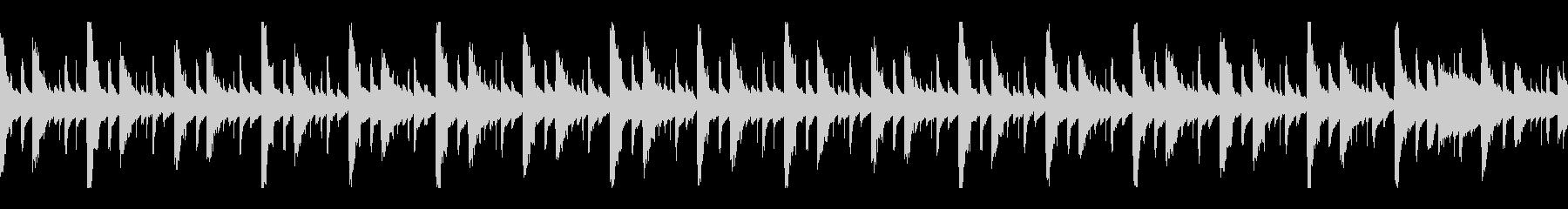 ヒップホップ系のイントロっぽいのループの未再生の波形