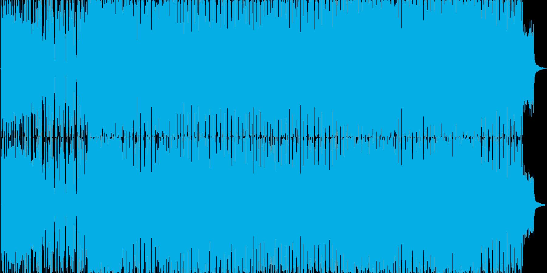 恐怖からの逃走・迷走の再生済みの波形