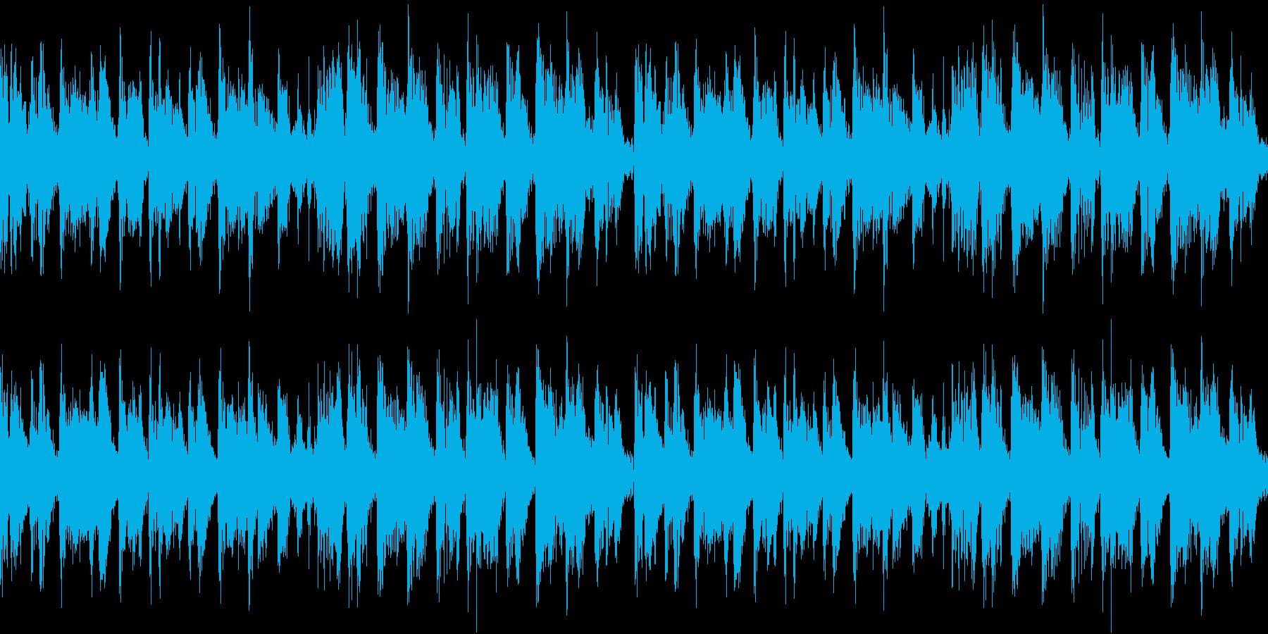 エレクトリックピアノが印象的なテクノの再生済みの波形