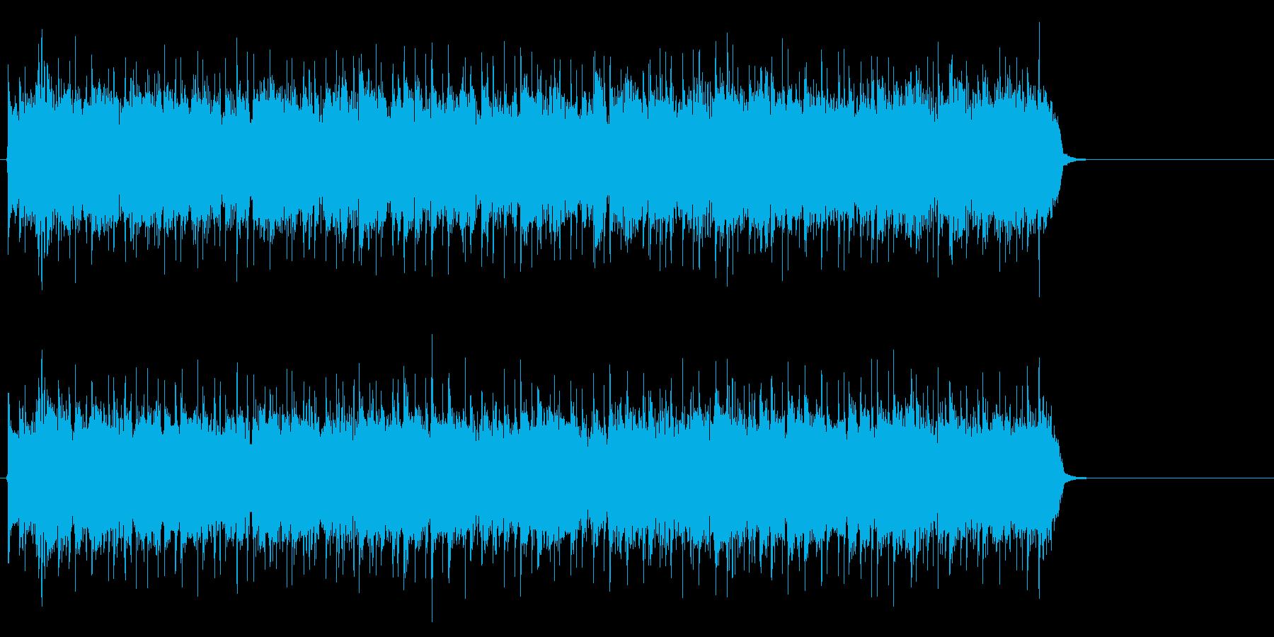 情熱的で爽やかなポップ(イントロ)の再生済みの波形