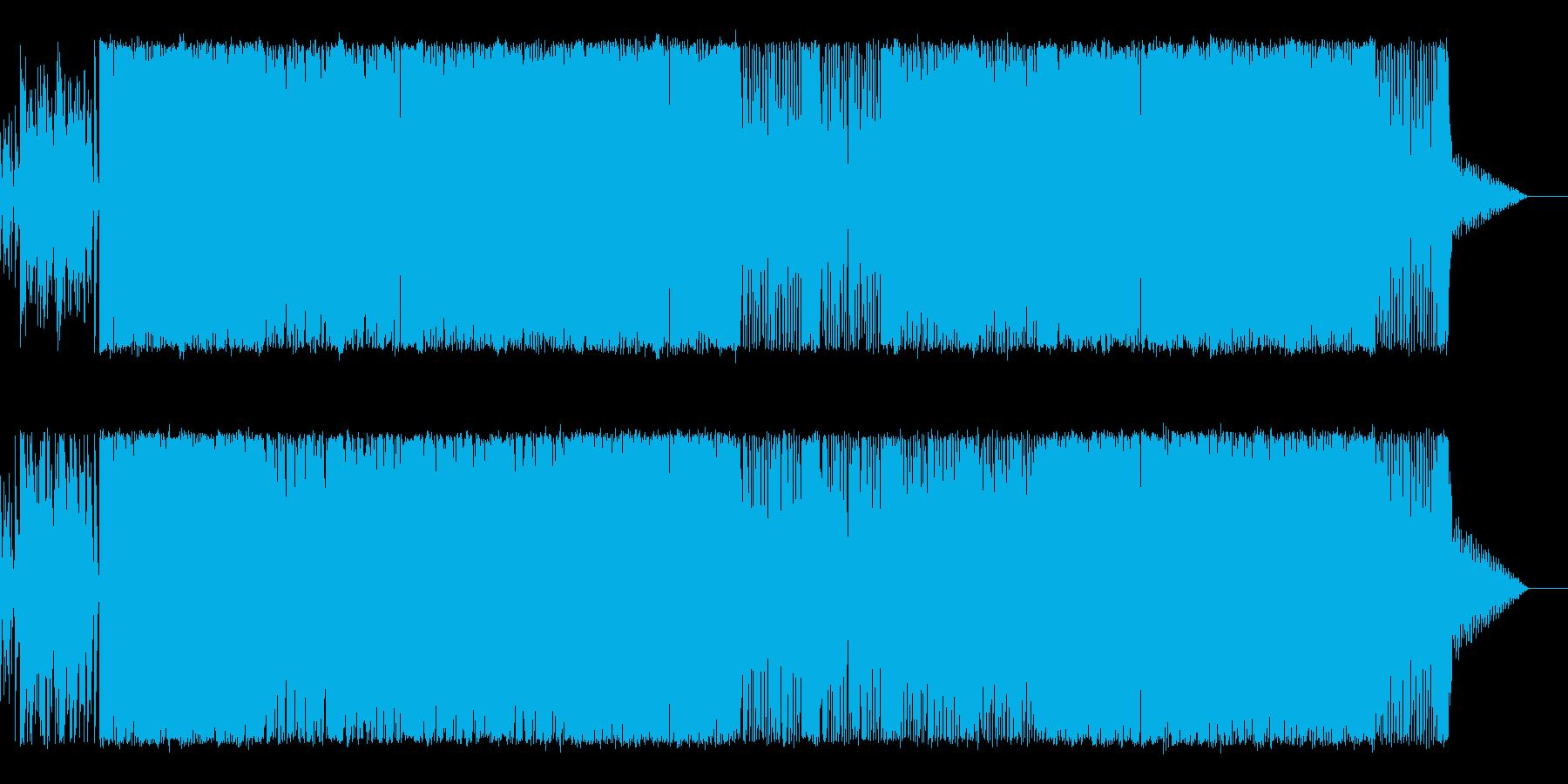 情熱的で切ないカッコイイ曲の再生済みの波形