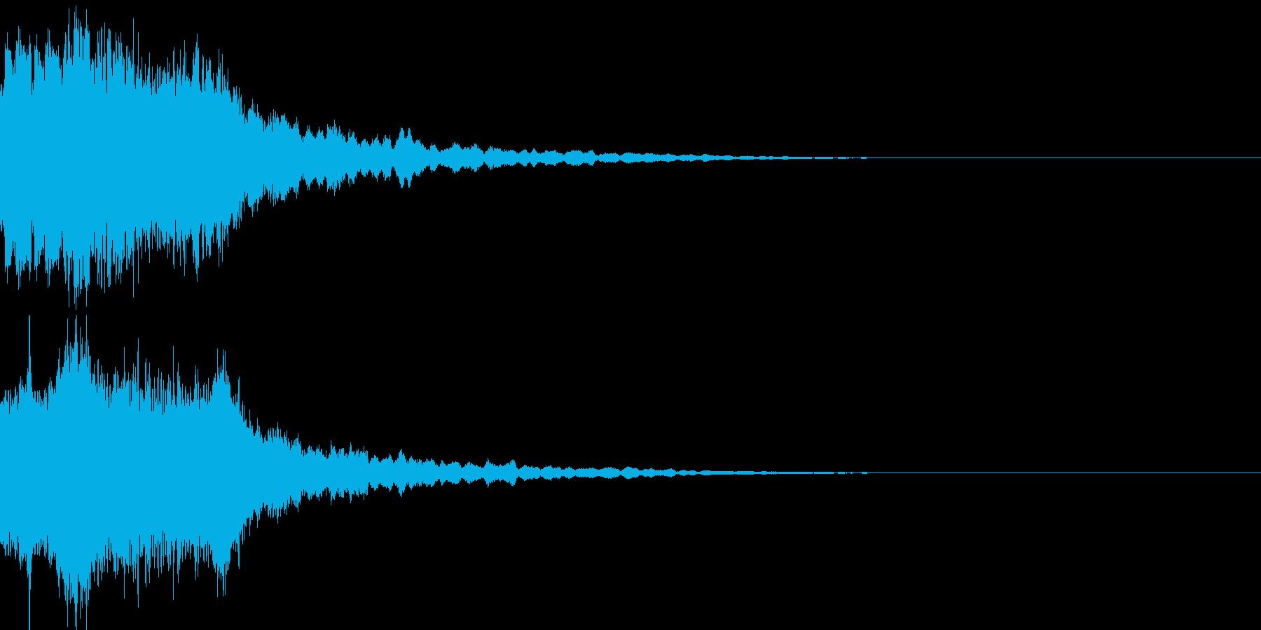 魔法33(回復・光・防御・補助系)の再生済みの波形