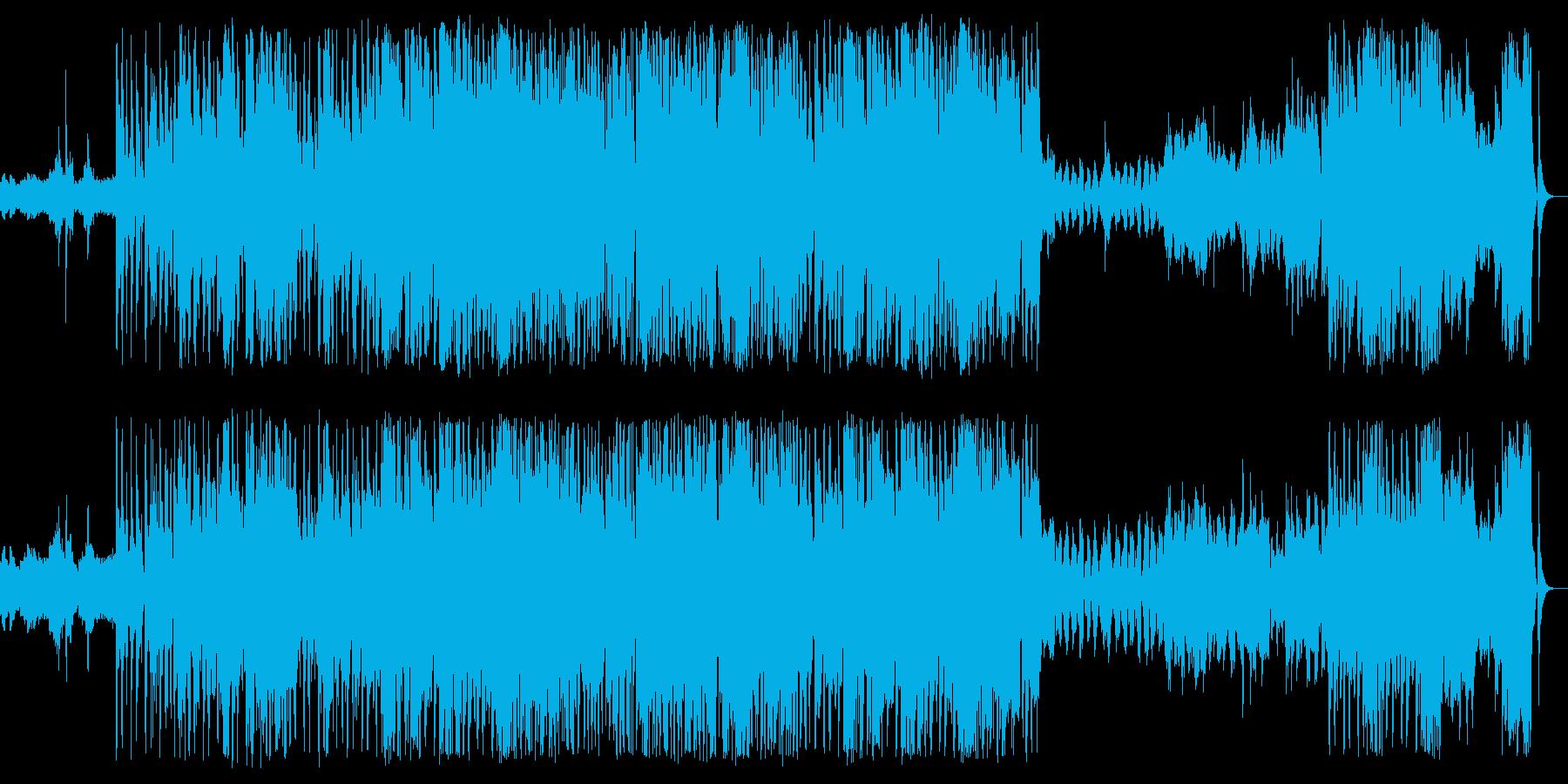 ほのぼの子犬子猫の再生済みの波形