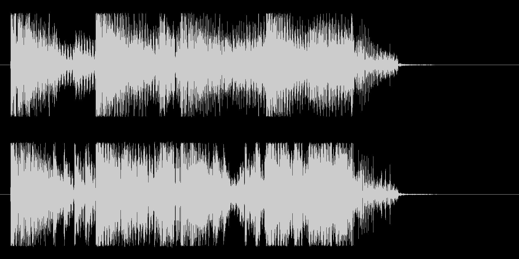 ハード&重低音のダブステップロゴ!!の未再生の波形